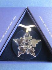 Swarovski Annual Edition Christmas Ornament 2021 Art 5557796