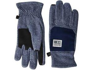 Under Armour CGI Fleece Gloves   Large      Academy/Mod Gray     1343217