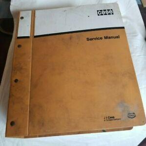 1981  Case 580D Loader Backhoe Service Manual