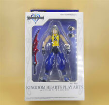 "SQUARE ENIX KINGDOM HEARTS PLAY ARTS RIKU no.2 ACTION FIGURE 7"" BOX IS OLD"
