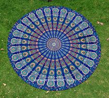 Indian Round Mandala Tapestry Tapestries Wall Hanging Beach Throw Yoga Mat Cloth
