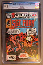 SGT FURY & His Howling Commandos #167 LAST 1st Nick Fury #1-r KIRBY CGC NMMT 9.8