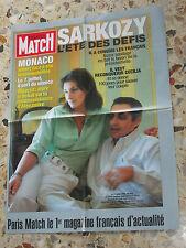 AFFICHE POSTER PUBLICITE PARIS MATCH 2005 NICOLAS SARKOZY CECILIA