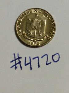 🇵🇭 1972 Philippines 10 Sentimos Coin - Superior Condition And Toning 🇵🇭