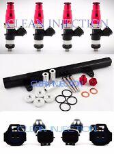 fit Nissan 180sx 240sx s13 SR20 SR20DET bosch ev14 2200cc Fuel Injectors rail