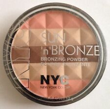 NYC Bronzing Powder 001Rosa Rio Bronzer Coffee Apricot Peach Sunglow Gold Sealed