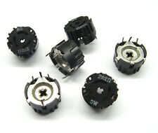 NOS 2x Spindel-Widerstand // Leistungs-Trimmer CRL Typ F23 4000 Ohm 3 Watt