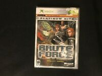 Brute Force Xbox 2004 Platinum Hits Brand New Factory Sealed