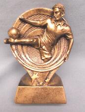 male Soccer statue trophy resin kicker Rf2618