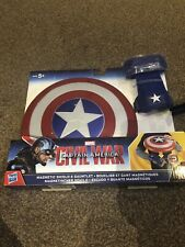 Marvel Captain America Civil War Magnetic Shield & Gauntlet. New