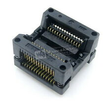 Enplas SOP28 SOIC28 OTS-28-1.27-01A SOP IC Test Burn-in Socket Adapter 1.27Pitch