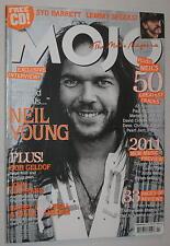Mojo Magazine Neil Young Bunnymen Geldof Syd Barrett PJ Harvey & More