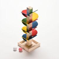 Wooden Tree Ball Run`Track Play Game Supplies Kids Intelligence Educational BDA