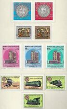 IRAQ 1975 77 COLLECTION OF 73 MINT IN COMPLETE SETS INCLUDES SOUVENIR SHEET LH