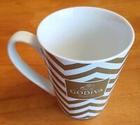 2015 Godiva Chocolate Belgium 1926 Collector Coffee Mug Cup White Gold China
