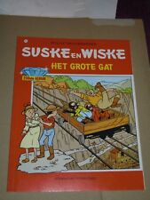 1e druk  Suske en wiske nr 250 : het grote gat + onbeschreven bijlage