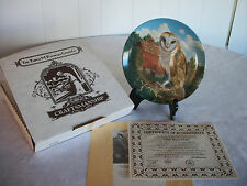 Knowles The Barn Owl Plate By Jim Beaudoin