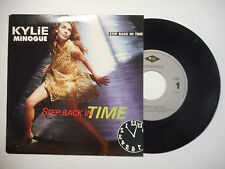 KYLIE MINOGUE : STEP BACK IN TIME ♦ 45 TOURS PORT GRATUIT ♦