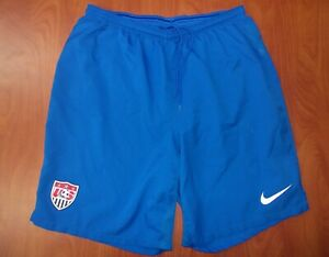 Nike US Soccer National Team Dri-Fit Performance Authentic Training Shorts L