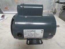 New Marathon 12 Hp Electric Motor 115208 230 Vac 3450 Rpm 1 Phase 56c Frame