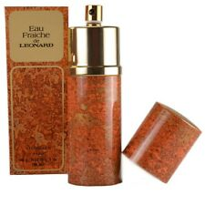 90 ML Eau Fraiche de Leonard Fragancia Femenina Vintage Atomizador Spray
