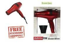 Babyliss PRO Ceramix Xtreme Ceramic Light Salon Hair Blow Dryer BABR5572 Red ion