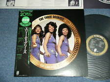 THREE DEGREES Japan Only 1976 NM LP+Obi GRAND PRIX