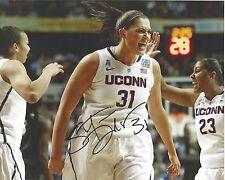 STEFANIE DOLSON Signed 8 x 10 Photo UCONN HUSKIES Basketball WNBA Mystics