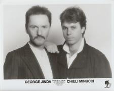 George Kinda and Chieli Minucci- Music Memorabilia Photo
