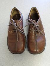 BORN brown leather, casual oxfords, Men's 9.5  (eur 43)