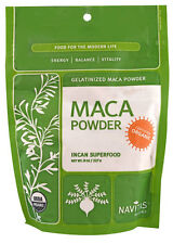 New Sealed Navitas Naturals Organic Gelatinized Maca Powder -- 8 oz