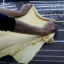 45x75cm PVA Natural Leather Chamois Towel Car Clean Wash Absorbent Drying Cloth