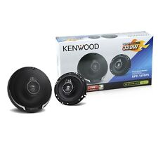 "KENWOOD KFC-1695PS 6.5"" 640 WATTS 3 WAY FLUSH MOUNT CAR COAXIAL STEREO SPEAKERS"
