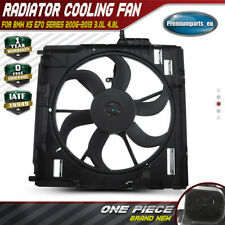 New Radiator Cooling Fan Assembly for BMW X5 E70 2006-2013 17427598740 600W