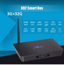 X92 TV Box 3G+32G 64Bit Android 6.0 Octa-core Amlogic S912 2.4GHz / 5.8GHz WiFi