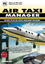 Air Taxi Manager Add-On for FS 2002/2004 (PC CD) NEW SEALED
