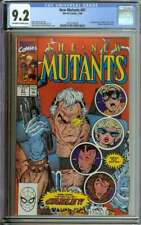 NEW MUTANTS #87 CGC 9.2 OW/WH PAGES