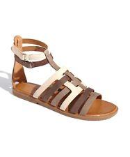 NAYA  'Zamira' Leather Ankle Wrap Sandals Sz 5