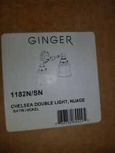 Ginger 1182N/SN CHELSEA DOUBLE LIGHTS NUAGE