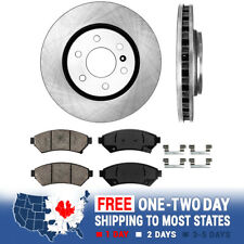 Front Rotors Ceramic Pads For Buick Terraza Chevy Uplander Relay Pontiac Montana (Fits: Saturn)
