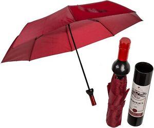 Weinflasche Design Regenschirm Automatisch Faltbar 90cm Regenschirm
