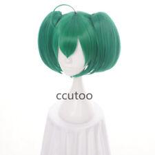 Macross Frontier F,Ranka Lee,Artificial Christmas Green Anime cosplay Wig