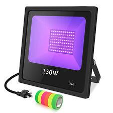 LED UV Black light 80W 100W 150W IP66 waterproof Christmas Party DJ Dance Glow