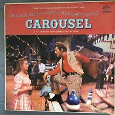 "Carousel Movie Soundtrack 12"" Vinyl Record 1956 British Import"