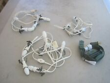 3 Christmas Village Light Cords, 6 Light is Dept. 56, Two are 3 Bulbs + TreeCord