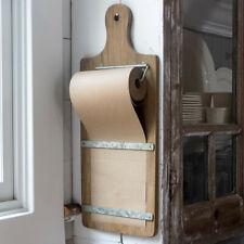 Farmhouse Message Board Paper Roll Cutting Board
