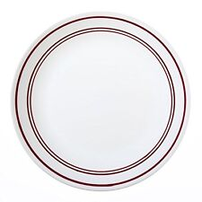 "Corelle Livingware Classic Café Red 10-1/4"" Dinner Plate (Set of 4)"