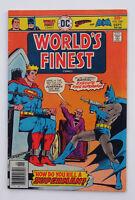 World's Finest Comics #240, #250 Two issue Bronze Age comics lot Superman Batman