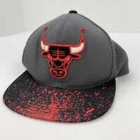 Chicago Bulls NBA Basketball SPLATTER Mitchell & Ness Hat SnapBack Cap RARE!