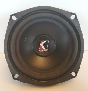 "Kicker Vintage Resolution Single 5.25"" Woofer Speaker USA R5"